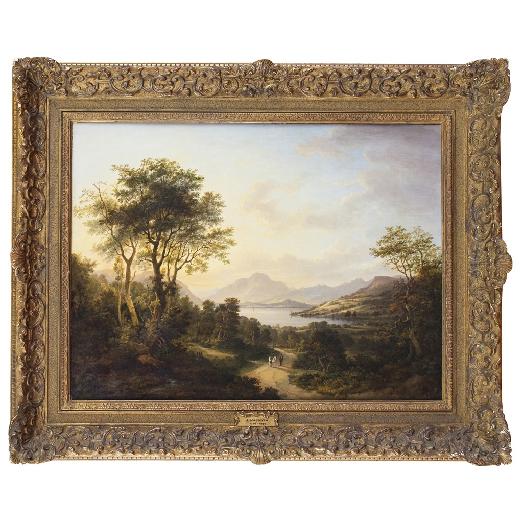 George Smith of Chichester | Classical River Landscape