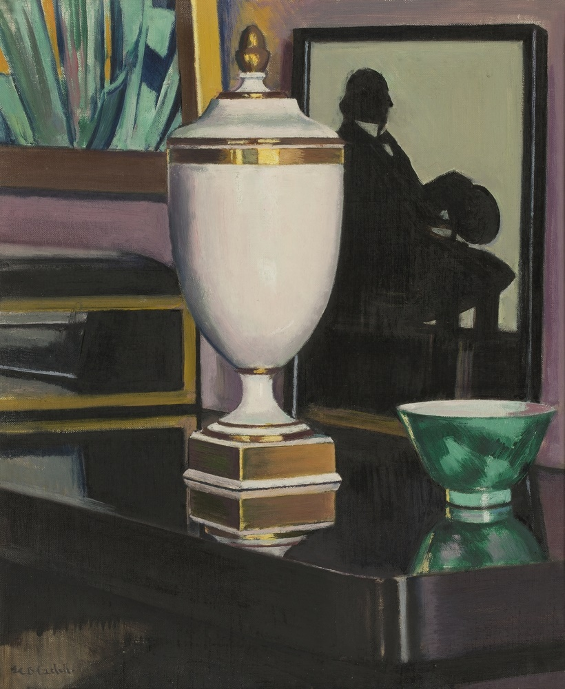 Scottish Colourist Cadell Vase