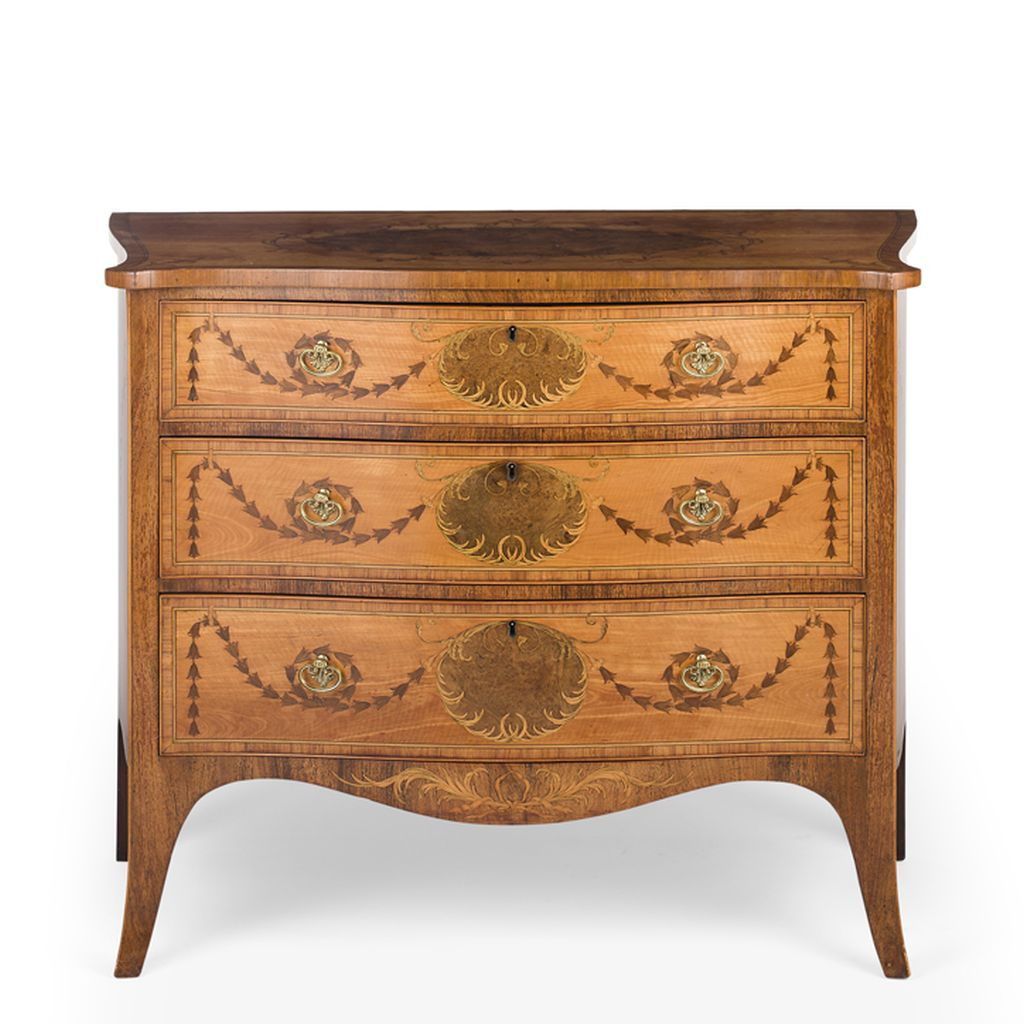 Serpentine Commode sold for £52,500