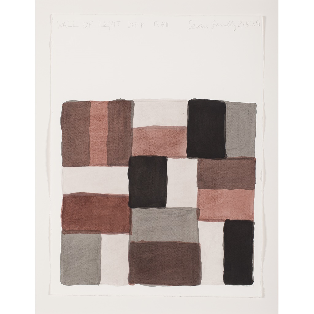 Sean Scully | Wall of Light - Deep Red | Estimate £15,000-20,000