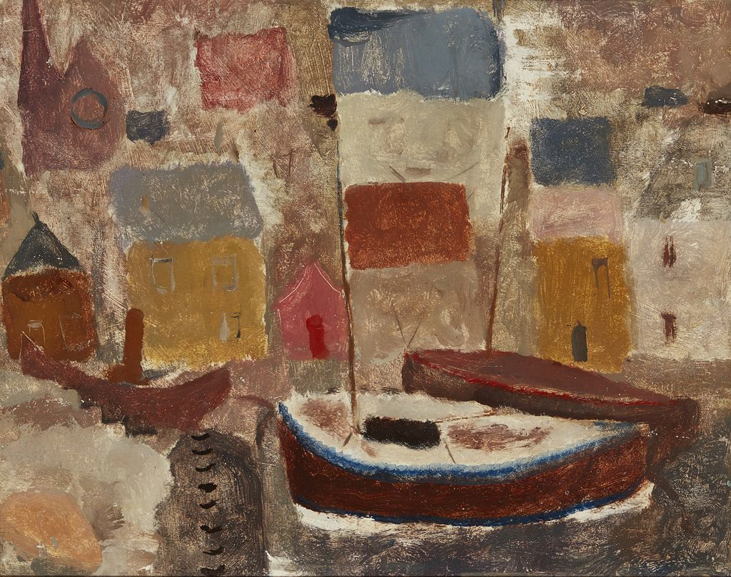SIR WILLIAM GEORGE GILLIES | HARBOUR SCENE | Estimate £4,000-6,000 + fees