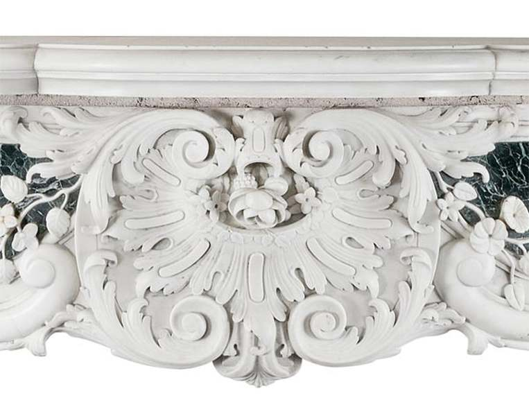 George II chimneypiece detail