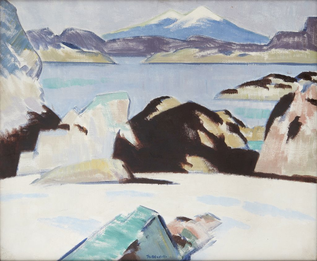 FRANCIS CAMPBELL BOILEAU CADELL | THE BLUE MOUNTAIN