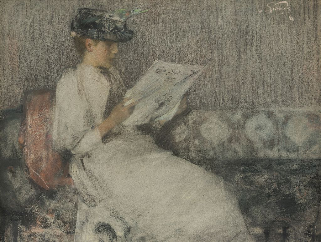 SIR JAMES GUTHRIE | THE MORNING PAPER