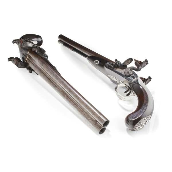Wogdon flintlock pistols