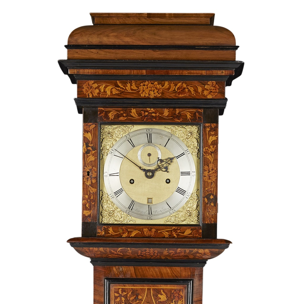 William and Mary longcase clock