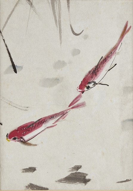 Chen Wen Hsi two red fish