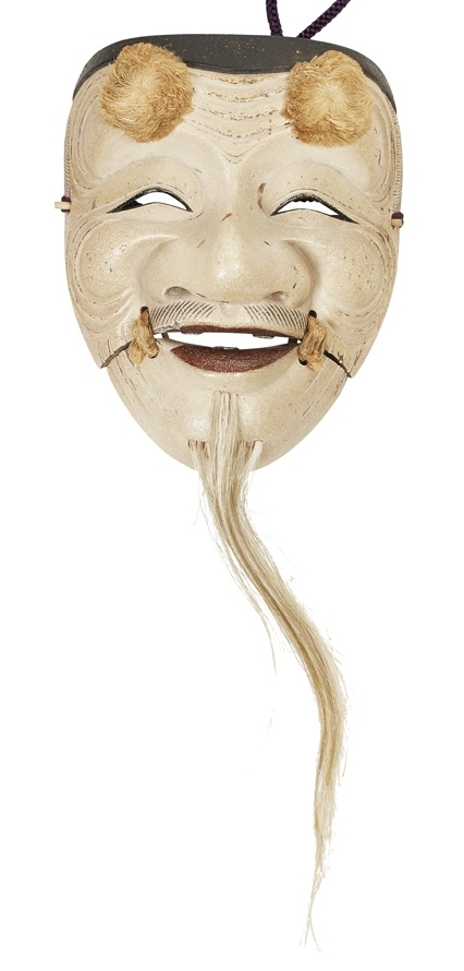 Japanese Noh Mask Blundall