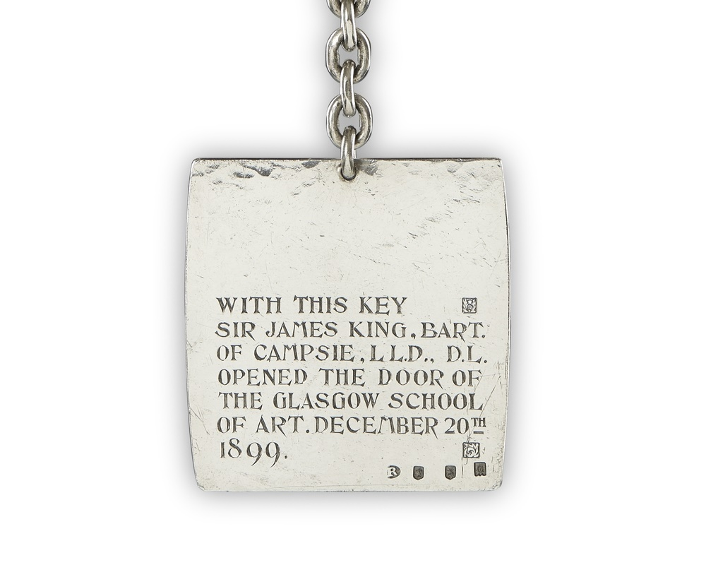 CR Mackintosh Key 1899