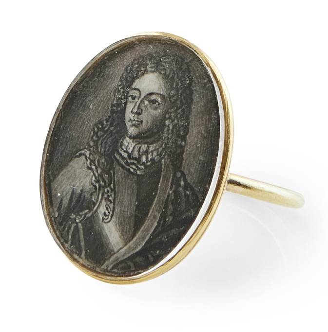 Jacobite ring Old Pretender