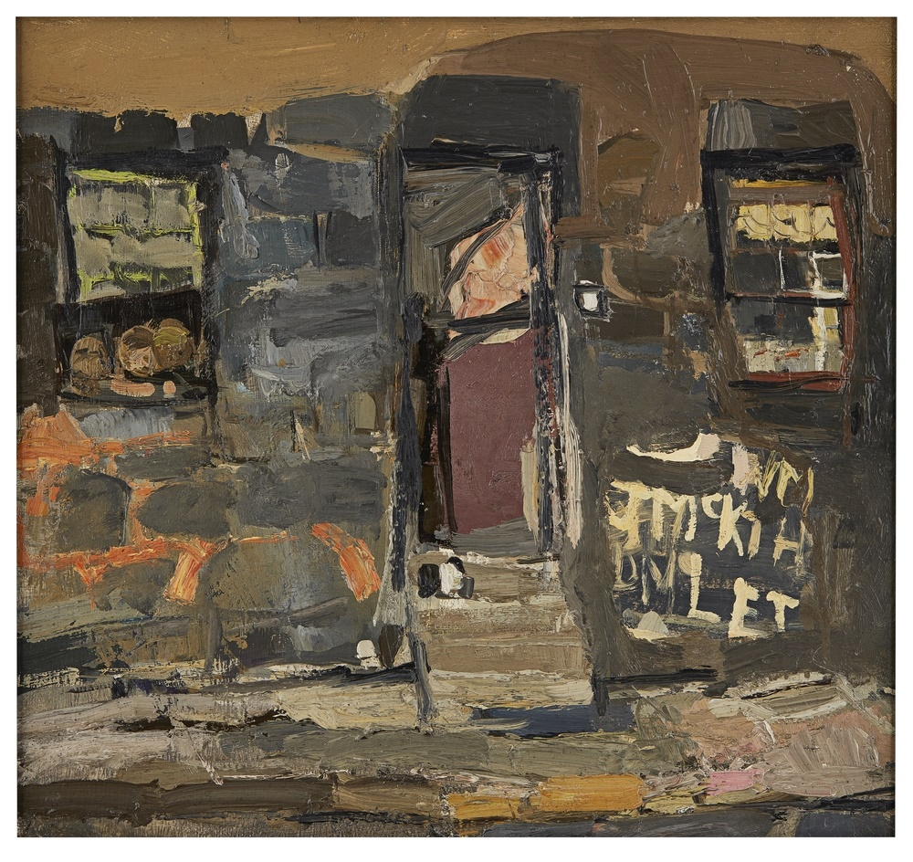 JOAN EARDLEY | GLASGOW TENEMENT WITH GRAFFITI