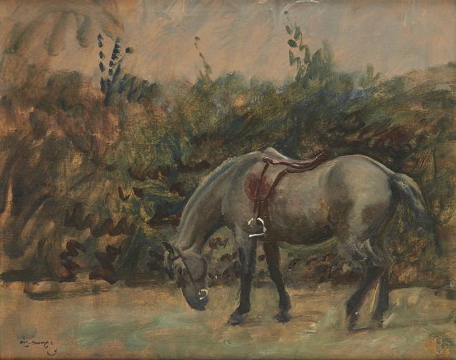 Sir Alfred James Munnings | Grey Pony | Estimate £25,000-35,000 + fees
