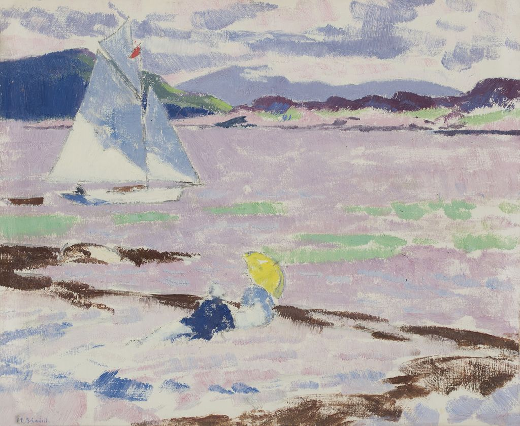 FRANCIS CAMPBELL BOILEAU CADELL | Roina in the Sound of Mull
