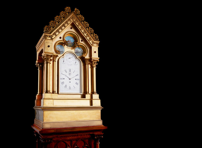Vulliamy clock