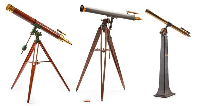 three telescopes
