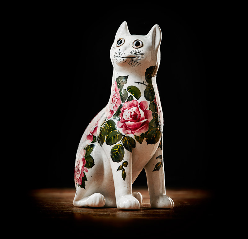 Wemyss Ware cat figure
