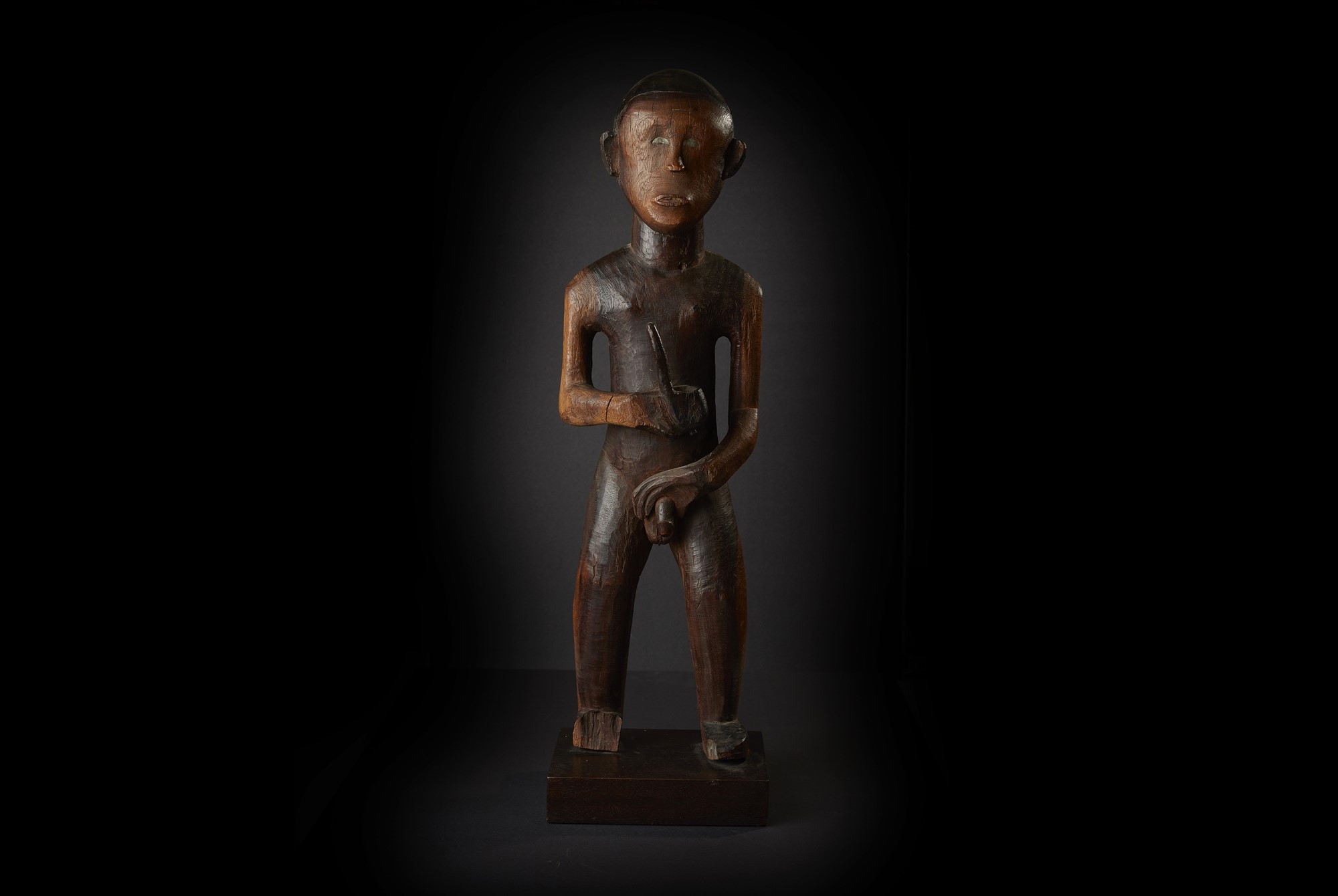 Superb Makonde Initiation Figure