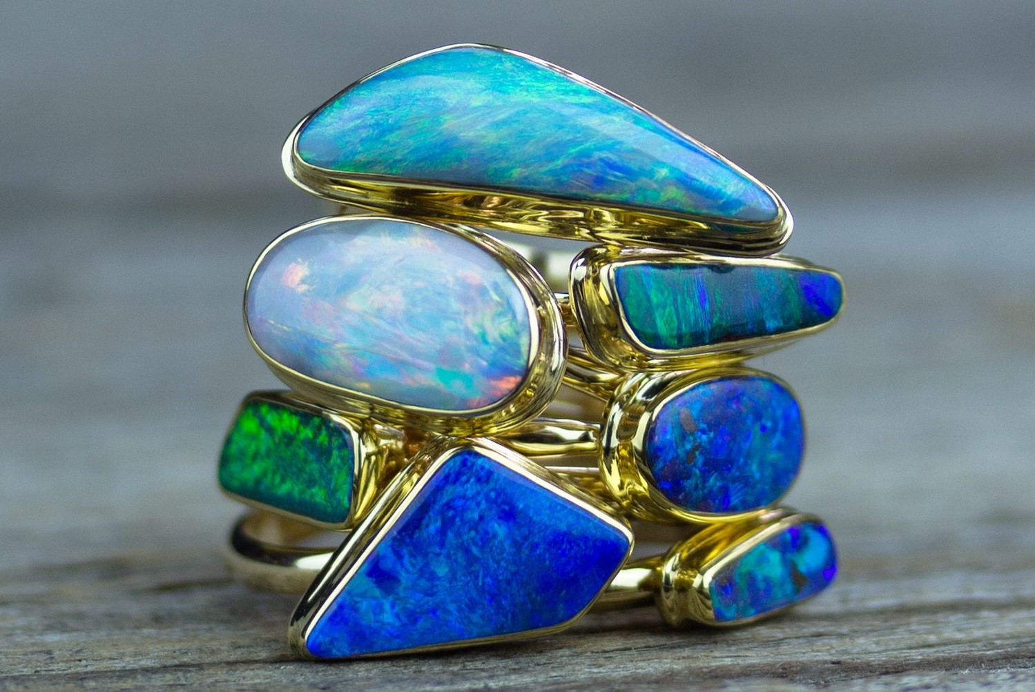 Capricorn Gems | Opal Rings