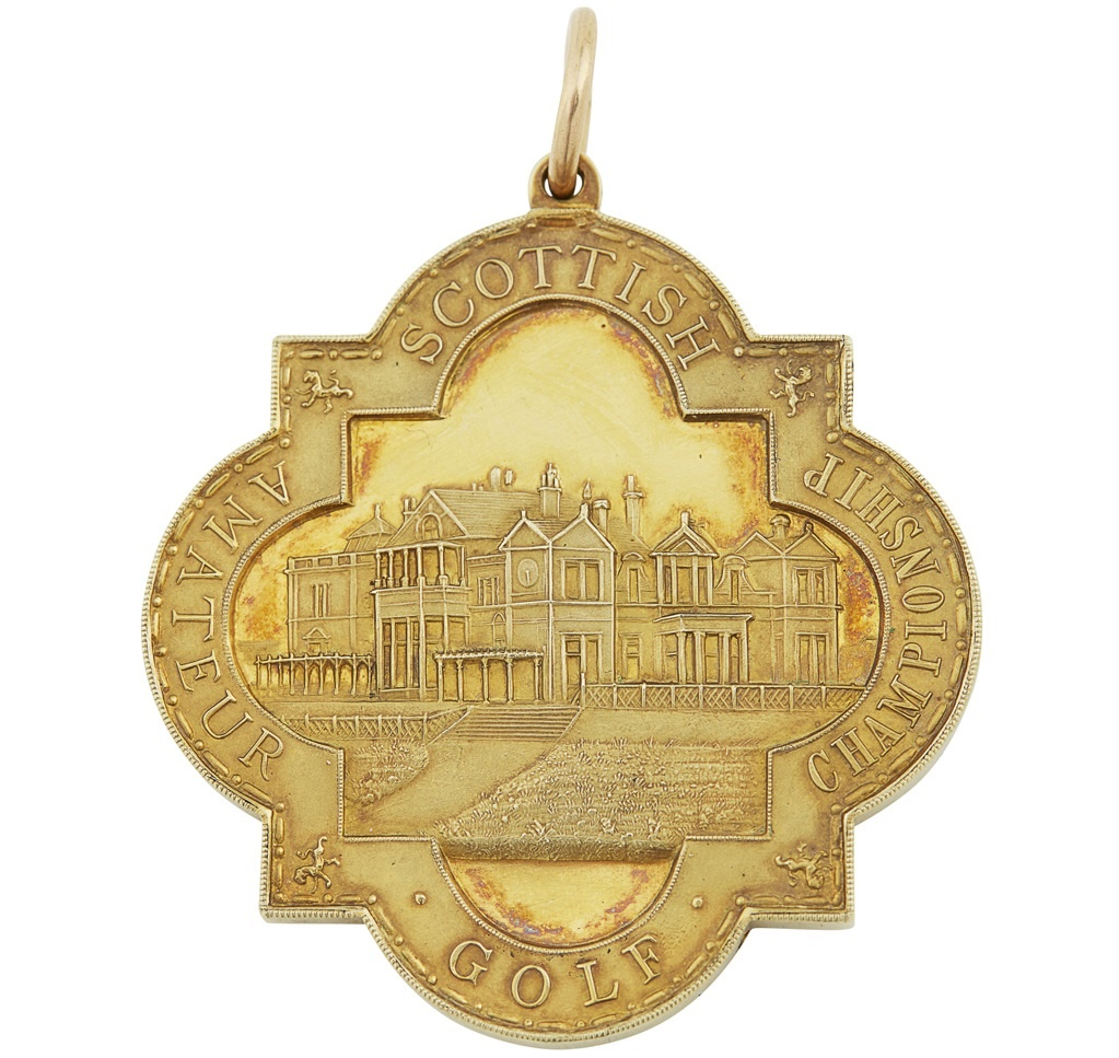 SCOTTISH GOLF AMATEUR GOLF CHAMPIONSHIP MEDAL 1931