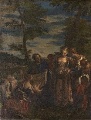 LOT 62 | [§] JOHN BULLOCH SOUTER (SCOTTISH 1890-1971) | AFTER VERONESE - THE FINDING OF MOSES