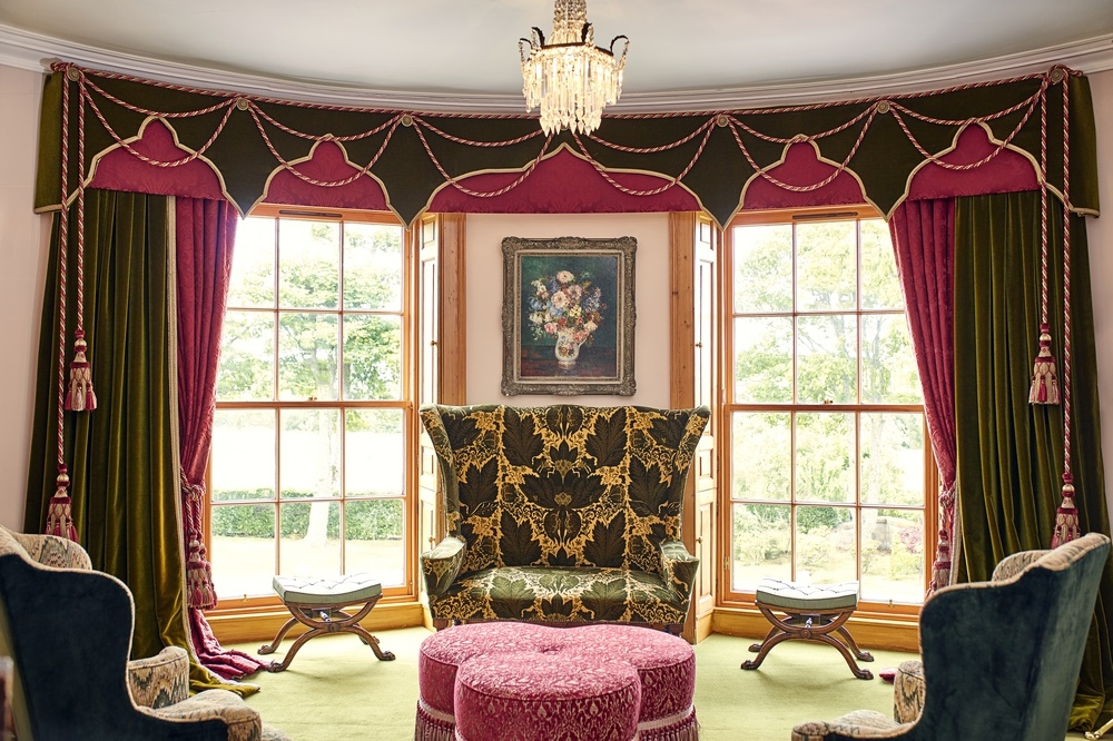 The Drawing Room of Kirkton House