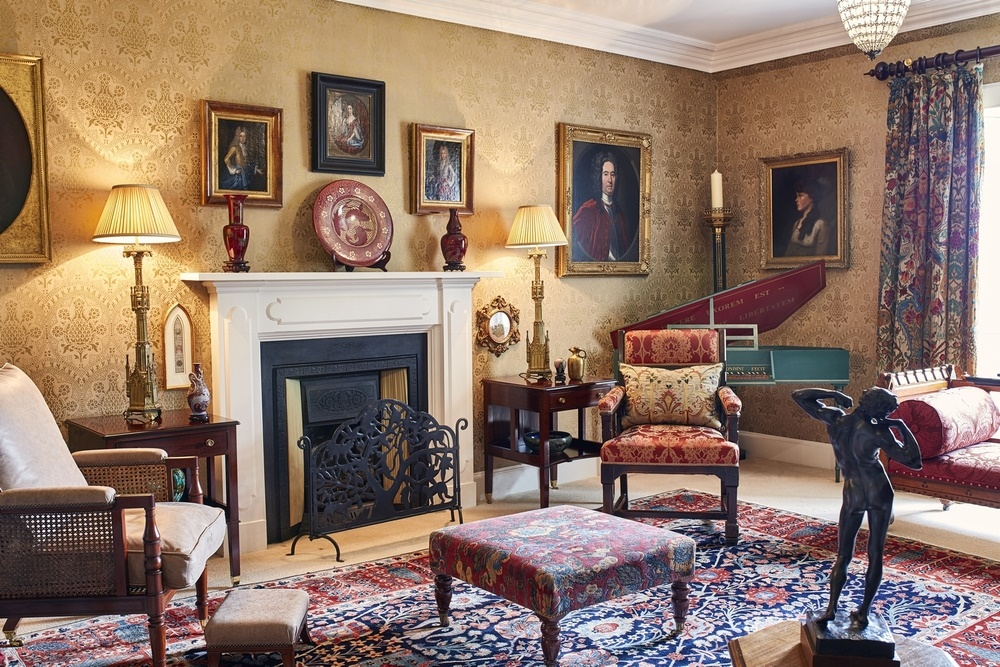 The Music Room of Kirkton House