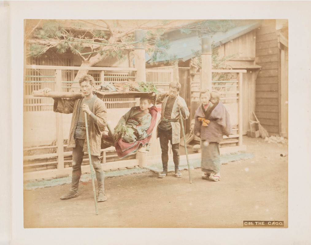 LOT 366 | ALBUM OF VIEWS AND STREET SCENES OF JAPAN | £300-500 + fees