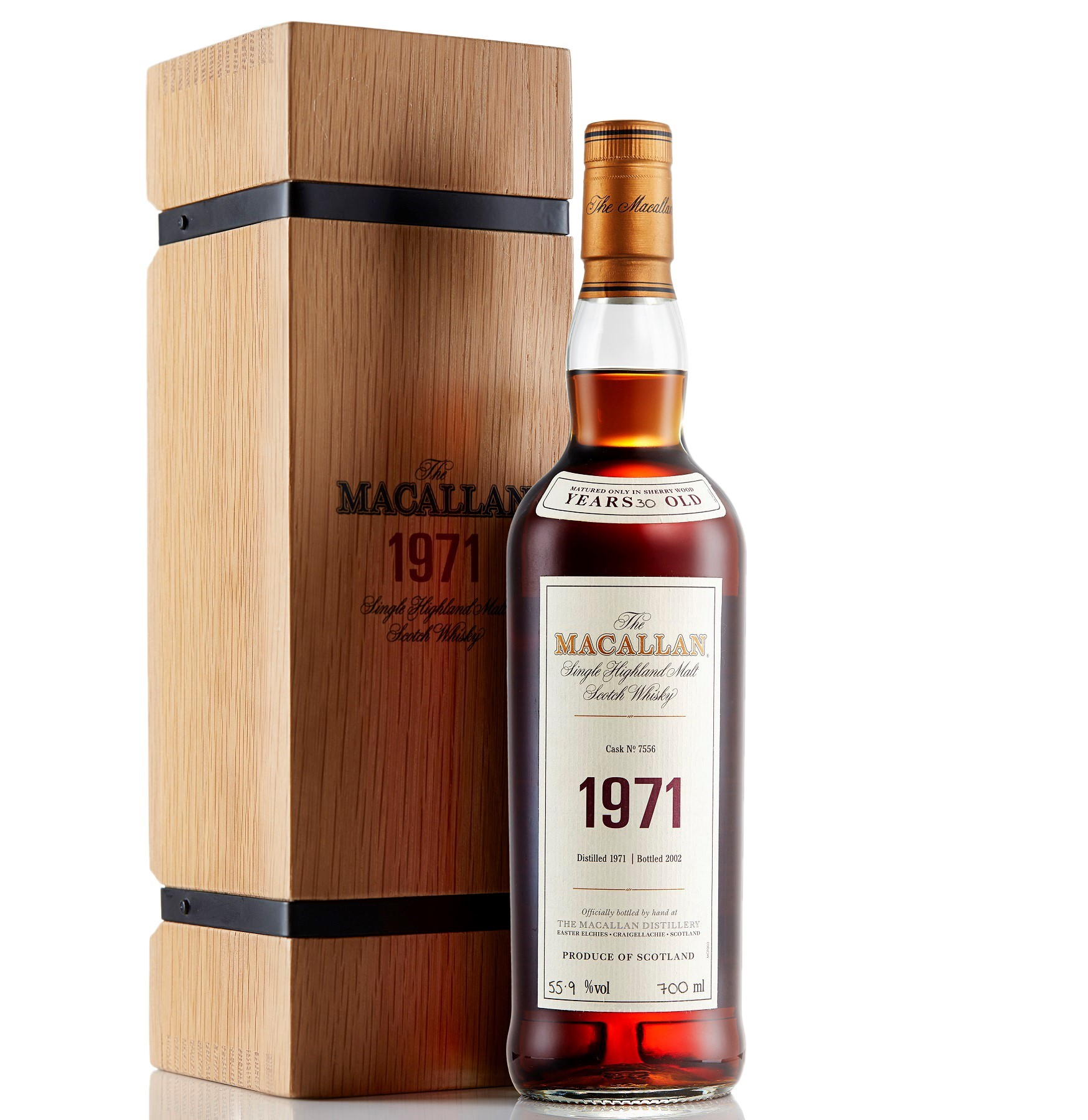 The Macallan Fine and Rare 1971 30 Year Old