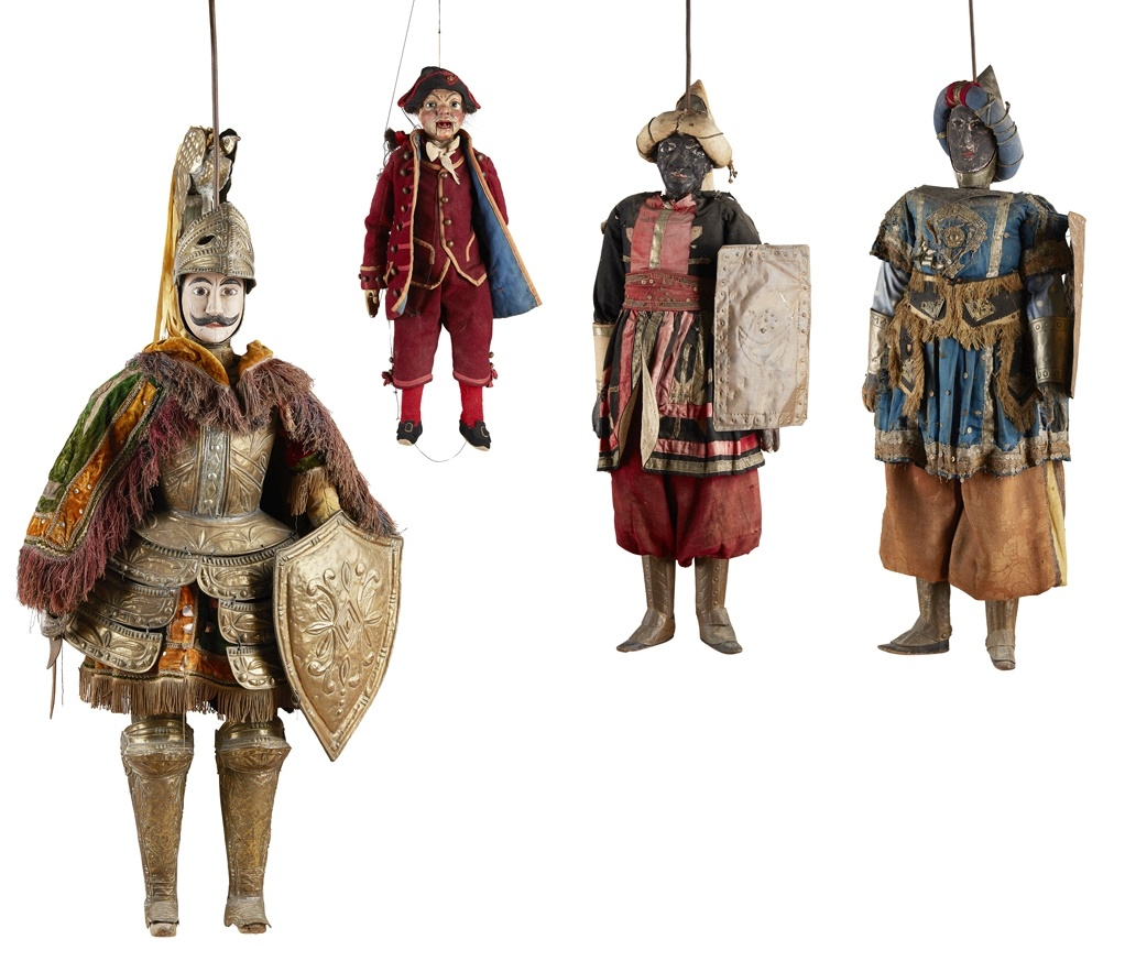 LOT 253 | FOUR SICILIAN OPERA PUPPETS, 19TH CENTURY