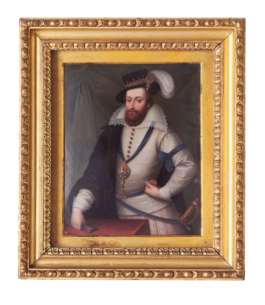 King Christian IV of Denmark or Edward Somerset, 4th Earl of Worcester, by Henry Bone