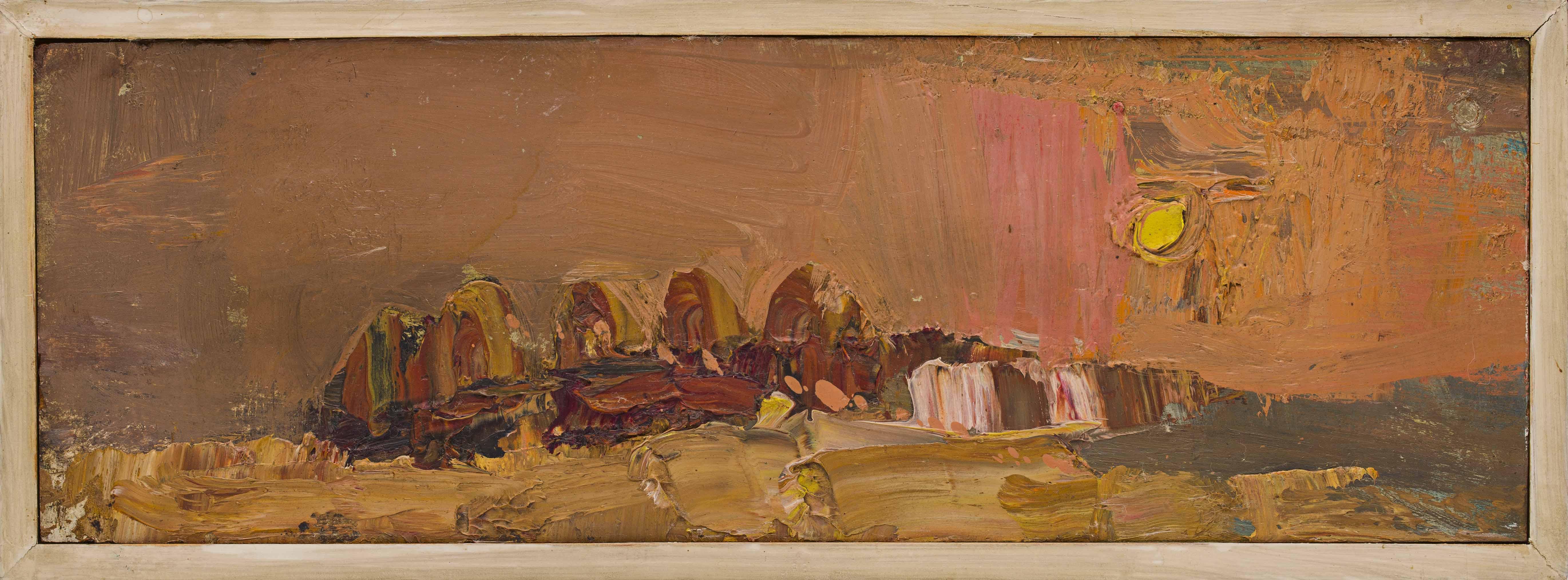 Joan Eardlery   Stacks at Sunset