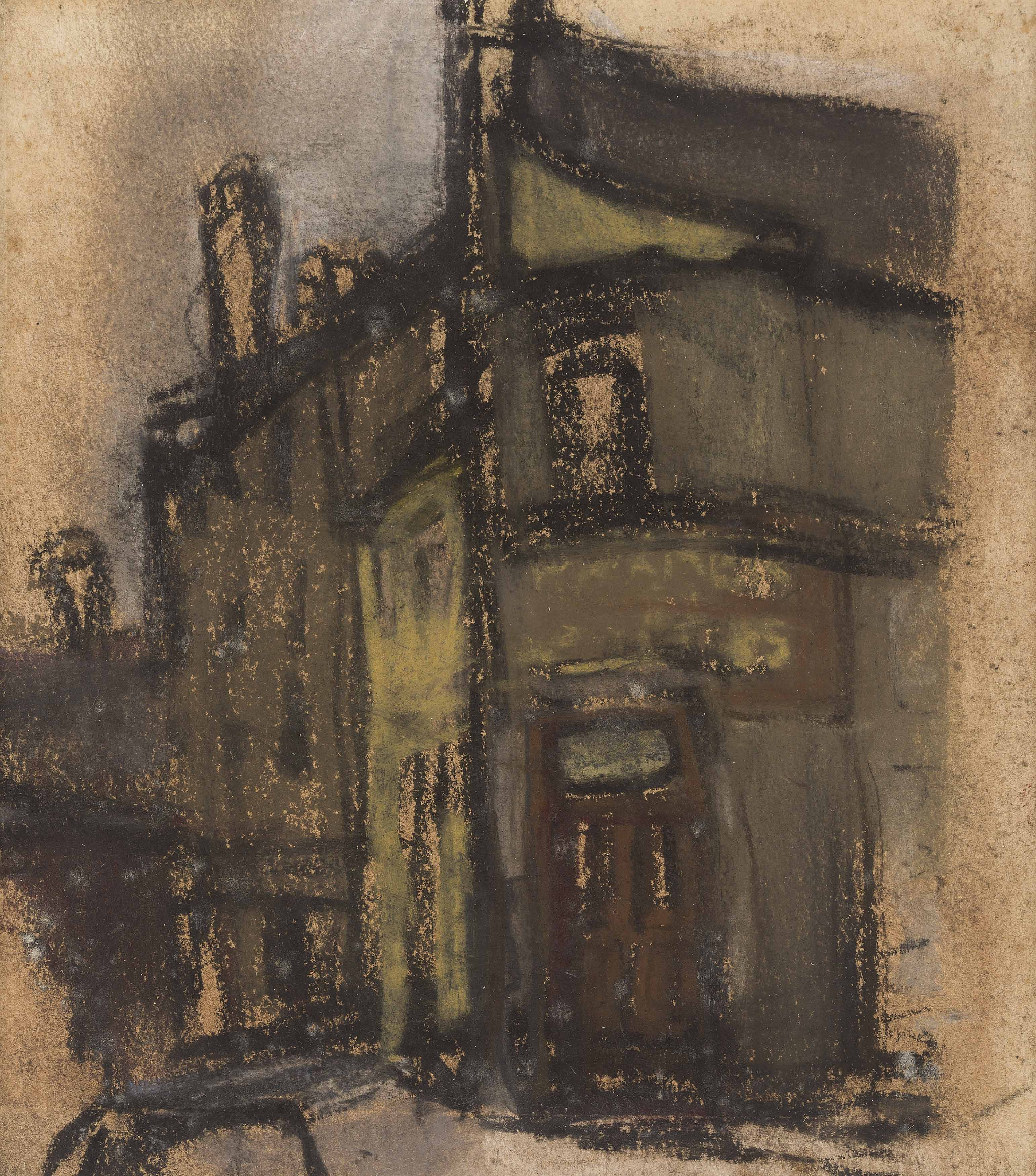 Joan Eardley | A View of Eardley's Townhead Studio