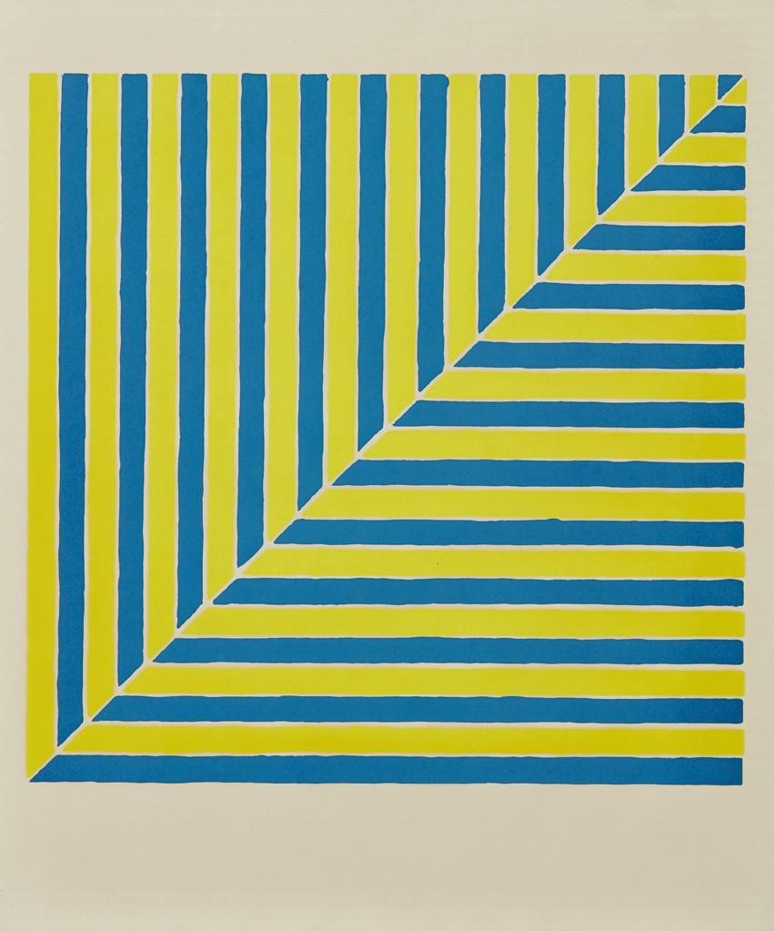 FRANK STELLA (AMERICAN B.1936)  UNTITLED (RABAT), 1964