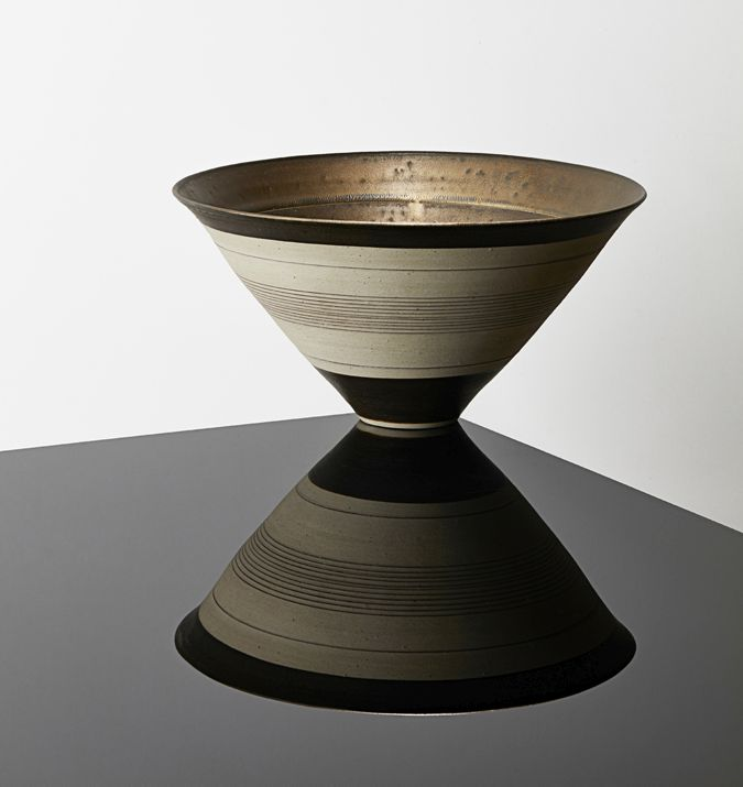 Dame Lucie Rie, Conical Bowl, sold for £32,420 in Modern Made: Modern Art, Sculpture, Design & Ceramics in March 2019