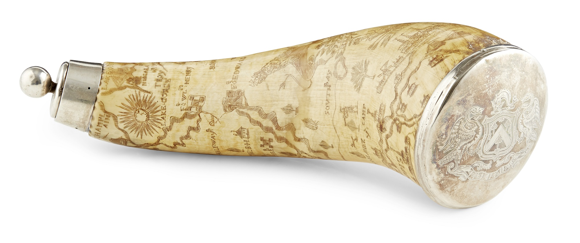 The Kennedy of Cassillis Powder Horn