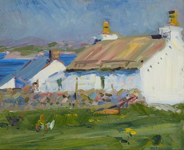 FRANCIS CAMPBELL BOILEAU CADELL R.S.A., R.S.W (SCOTTISH 1883-1937) | CROFTS, IONA