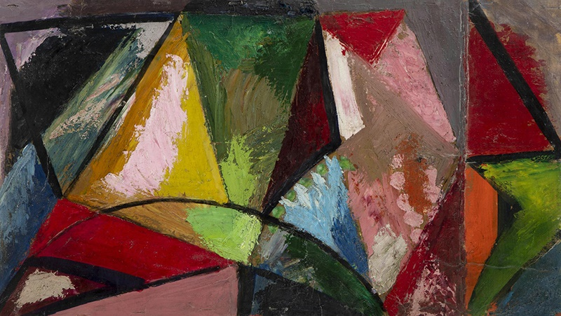EDWARD WOLFE R.A. (SOUTH AFRICAN/BRITISH 1897-1982) ABSTRACT, CIRCA 1940