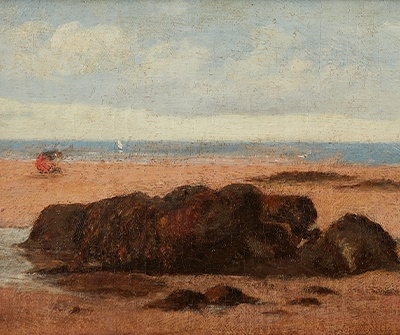 'On the Shore' by Sir John Lavery