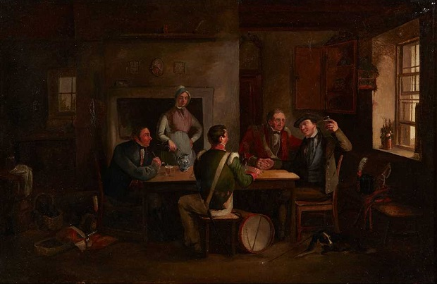 ALEXANDER CARSE (SCOTTISH 1770-1843) THE RECRUITING PARTY