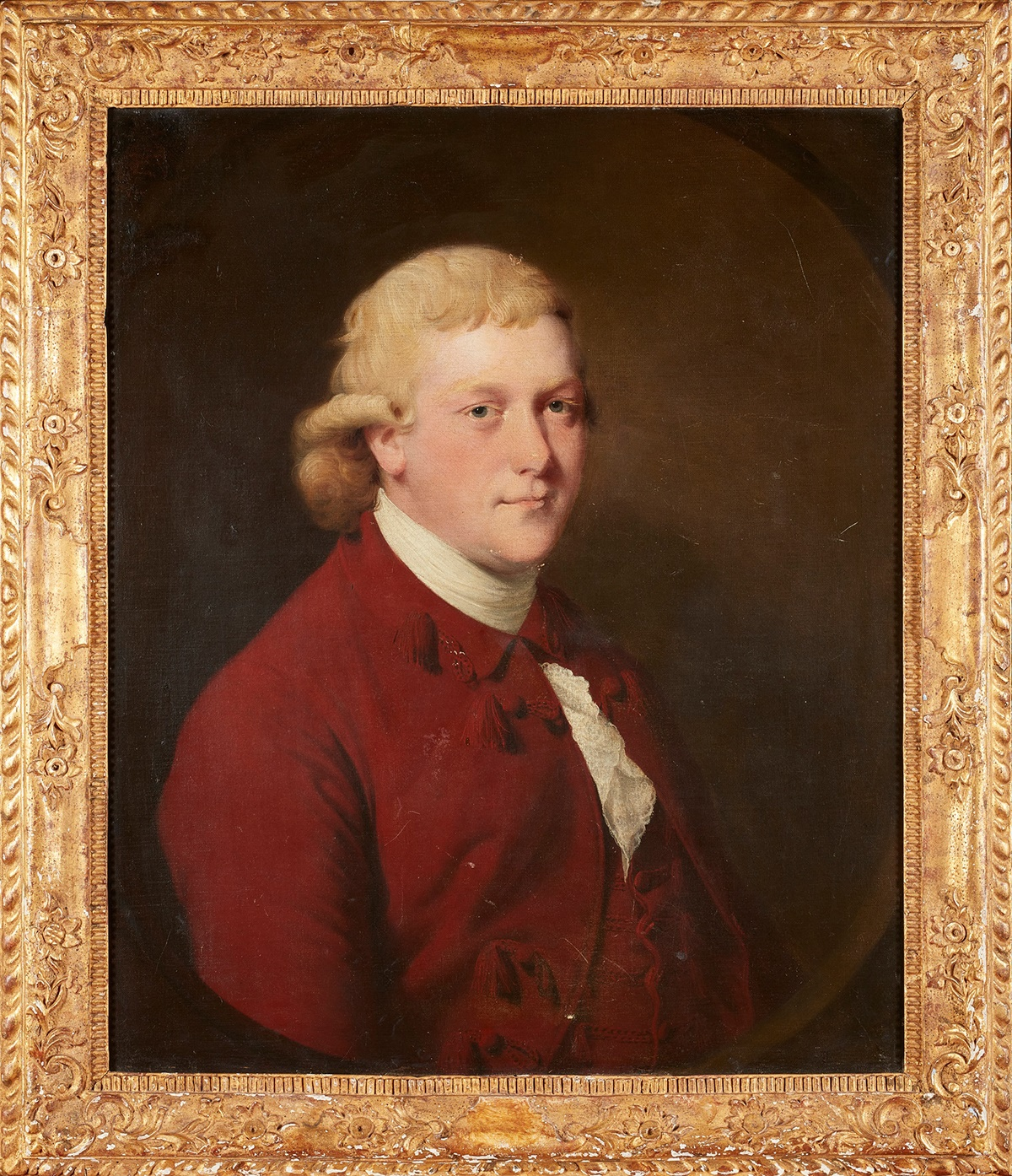 JOSEPH WRIGHT OF DERBY (BRITISH 1734-1797) PORTRAIT OF HENRY FLINT (MAYOR OF DERBY IN 1770 AND 1786)