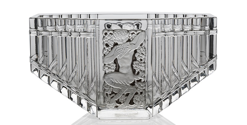 RENÉ LALIQUE (FRENCH 1860-1945) PAN VASE, NO. 10-904