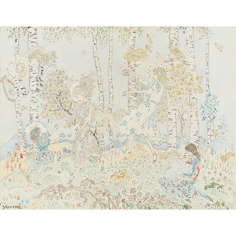 LOT 399 | JESSIE MARION KING (1875-1949) | YOUTHE