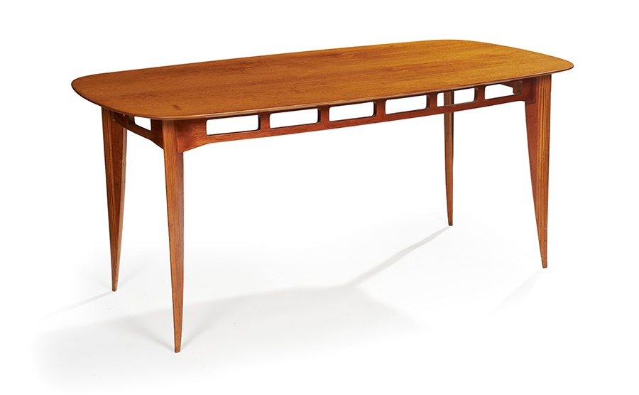SIR BASIL SPENCE O.M. O.B.E. R.A. (BRITISH 1907-1976) FOR H. MORRIS & CO., GLASGOW 'ALLEGRO' DINING TABLE, DESIGNED 1947-8