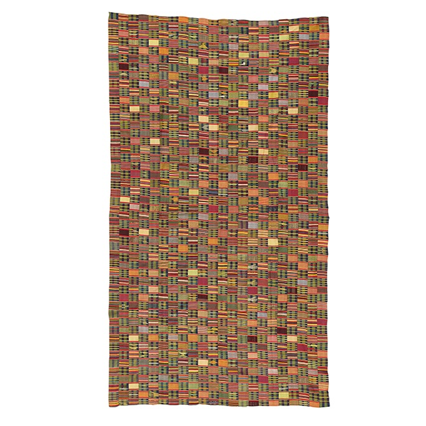FINE EWE CLOTH EASTERN GHANA OR TOGO