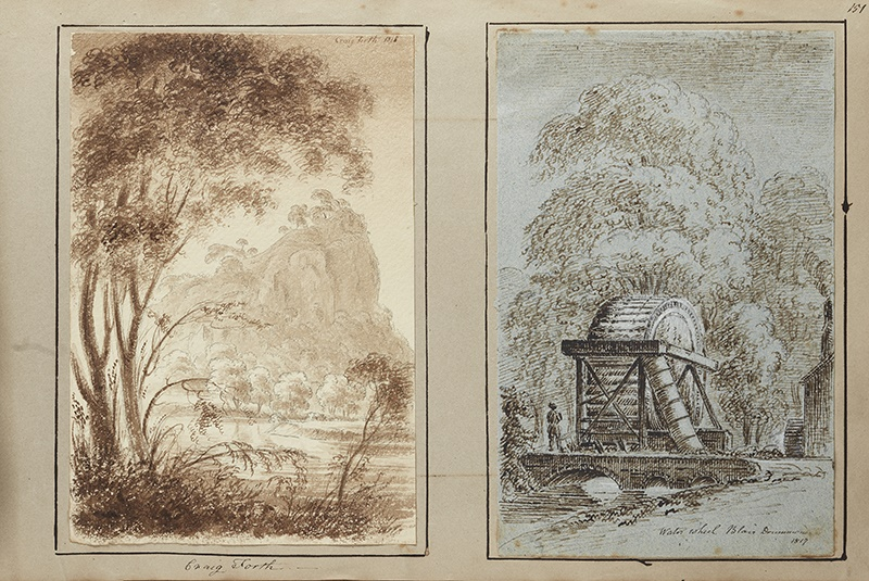 James Skene of Rubislaw sketches