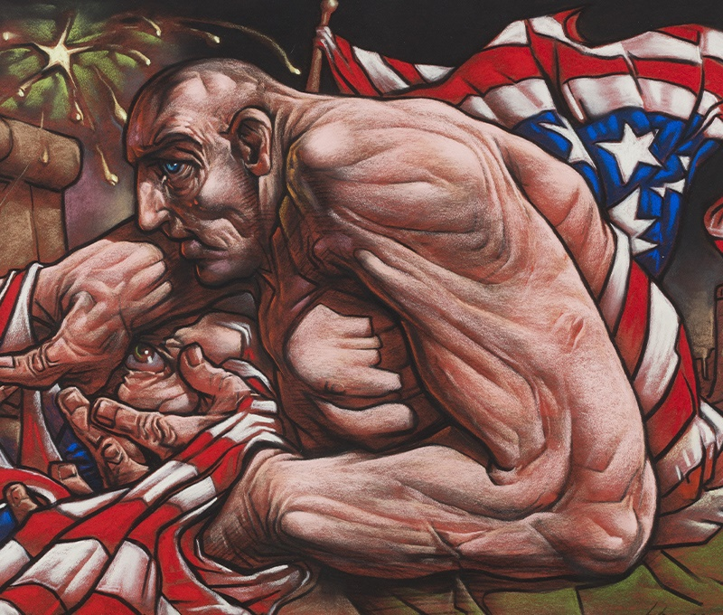 Peter Howson's Urban Realist Manner