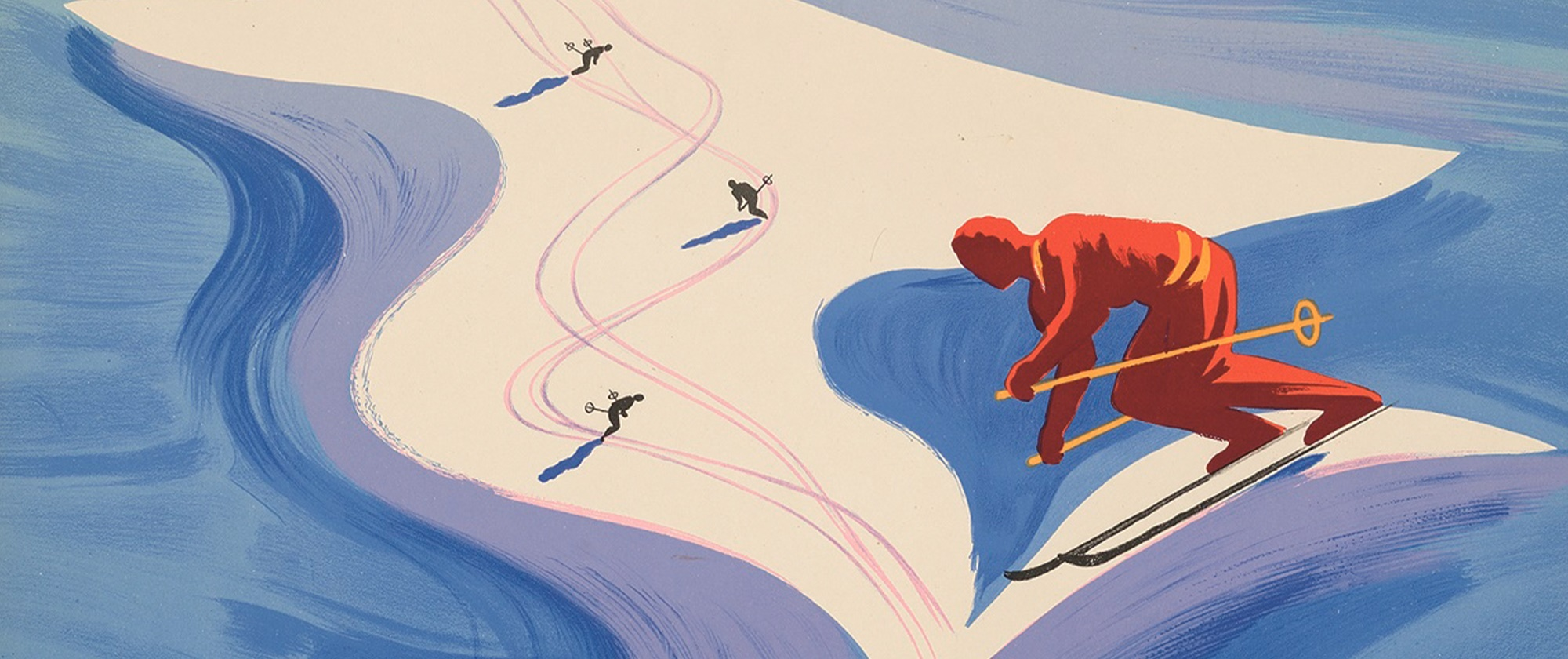 Ski Lovers Get Their 'Hit' in Vintage Poster Auction