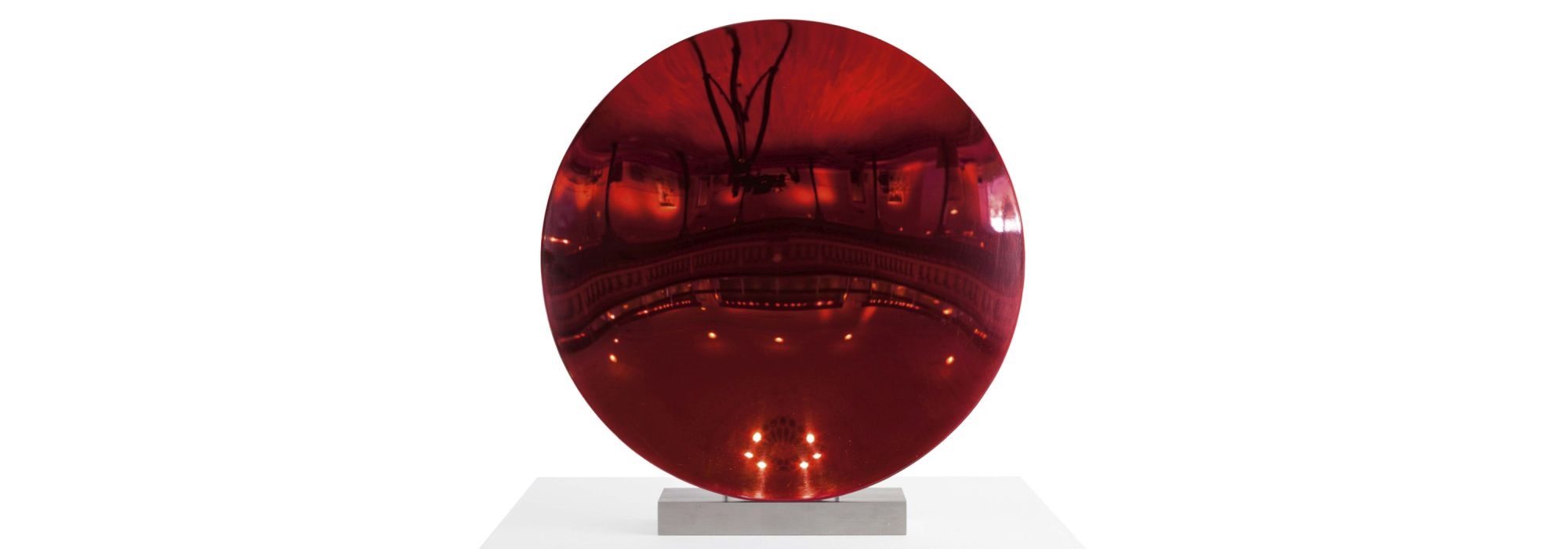 Anish Kapoor Red Disc