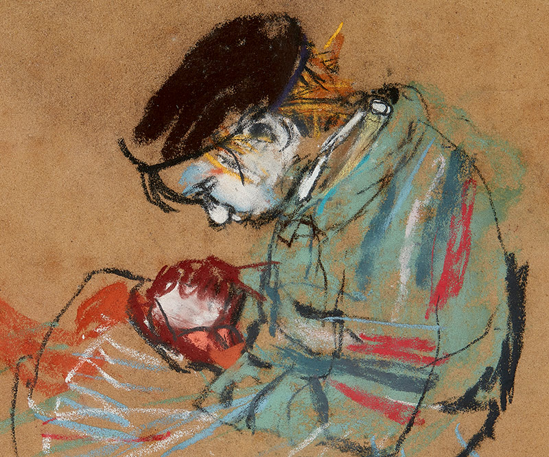 Scottish Paintings & Sculpture ft. A Century of Joan Eardley