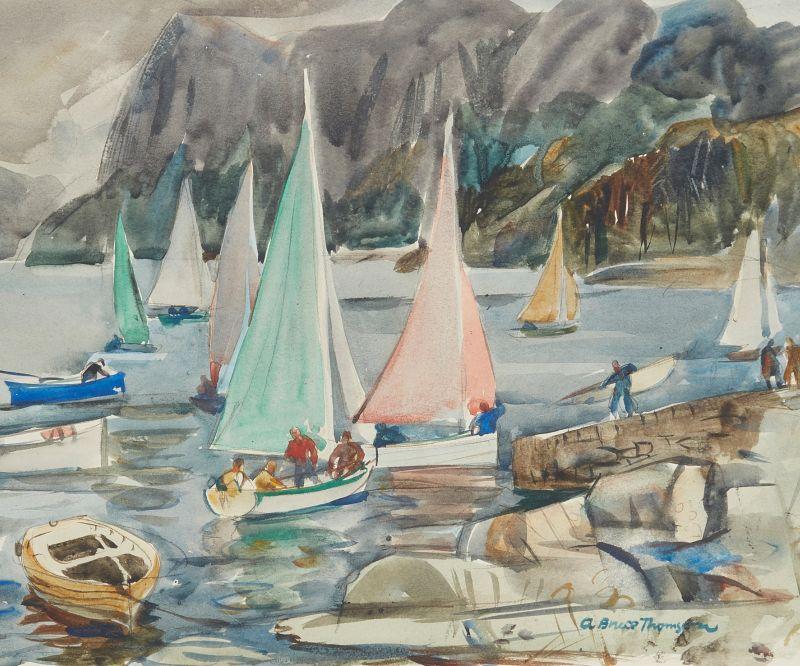 Paintings & Works on Paper Ft. The William Crosbie Studio Sale